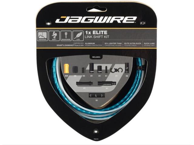 Jagwire 1X Elite Link Schakelkabel Set, blauw